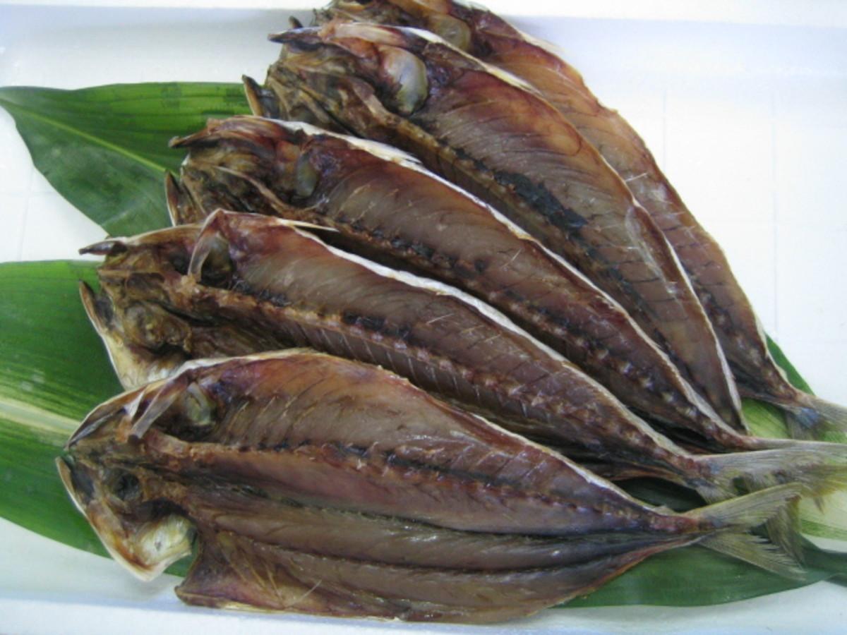 Kusaya is a stinky dried fish.