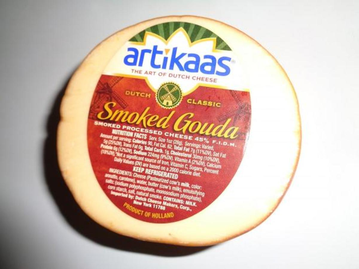 The smoked Gouda that I use in this recipe.