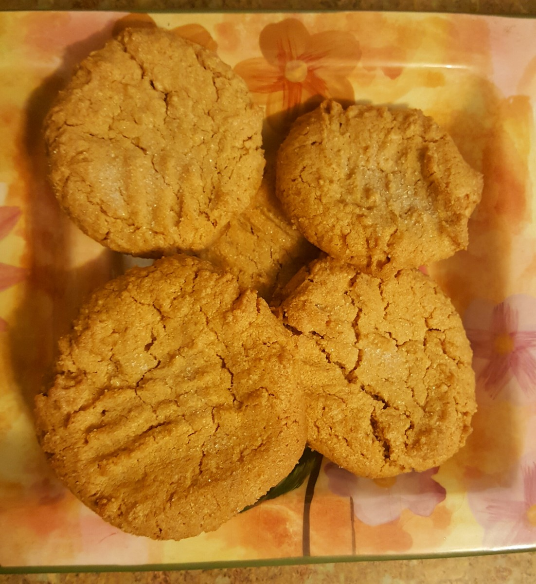 delicious-3-ingredient-peanut-butter-cookies