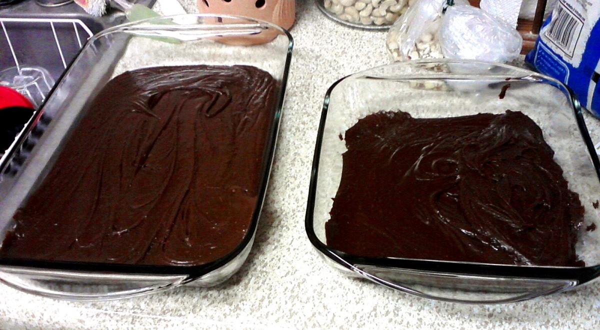 Fudge Cooling in Glass Pans