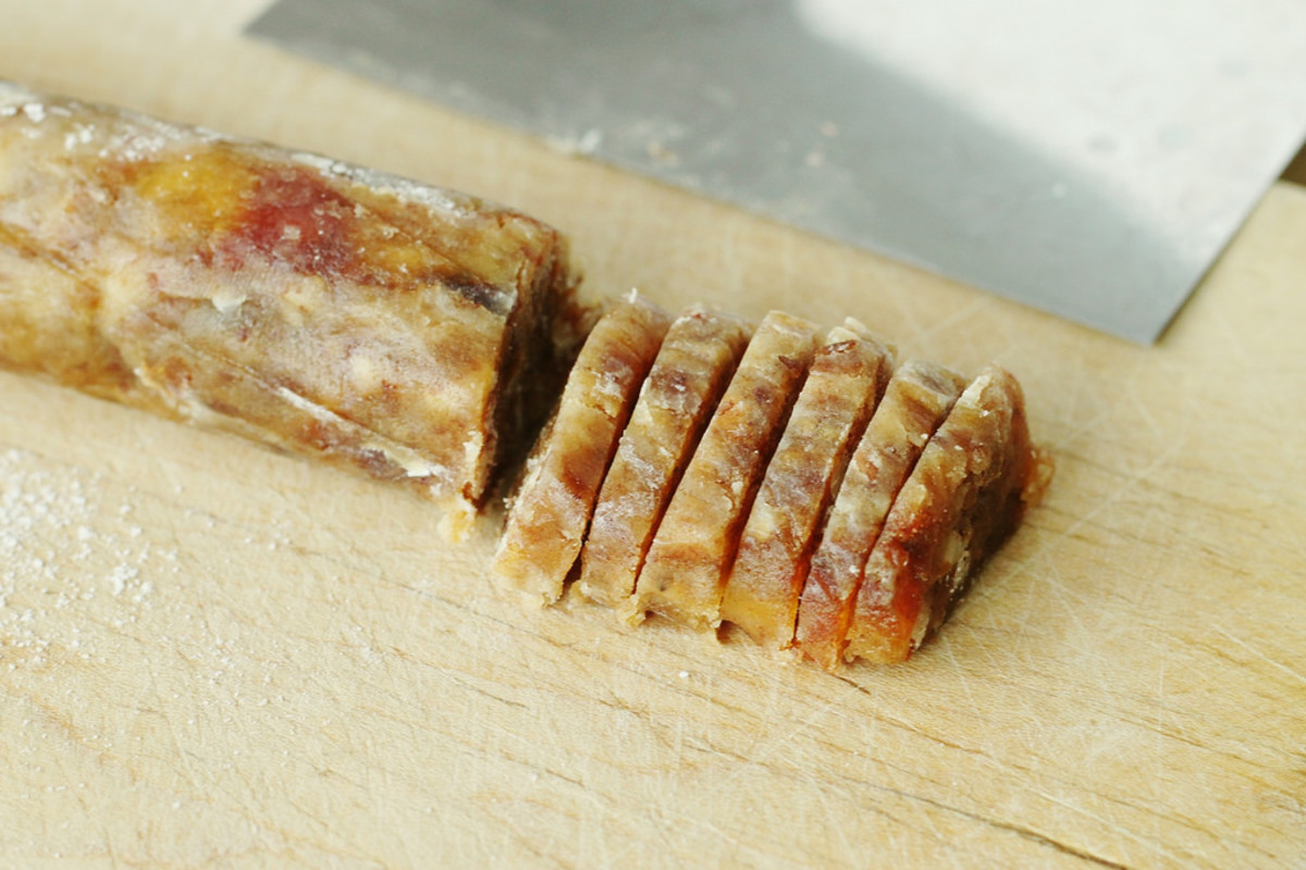 Date Roll Candy