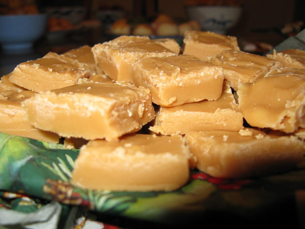 Caramel Fudge Candy