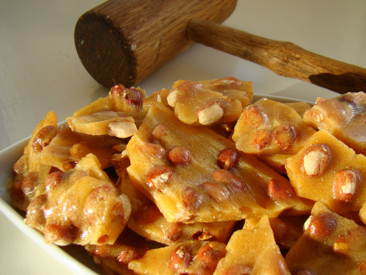Peanut Brittle Candy