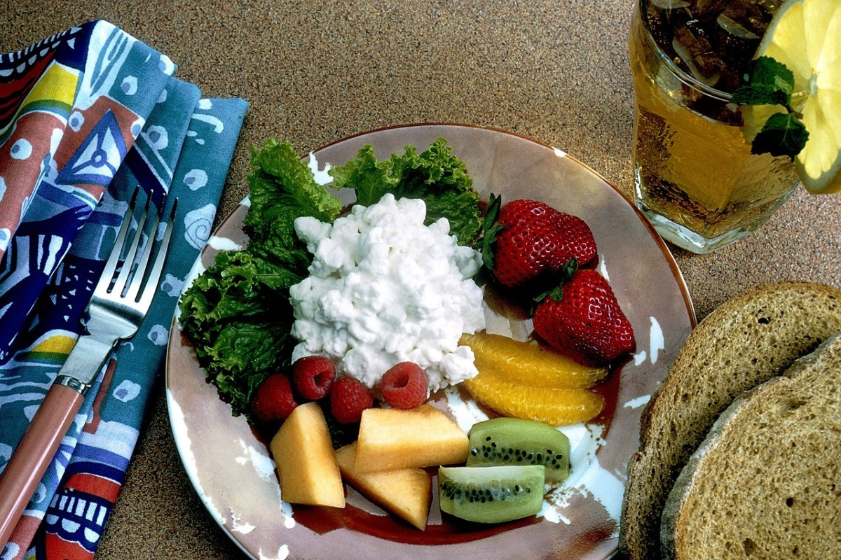 Cottage cheese makes a tasty breakfast, lunch, or dinner ingredient.