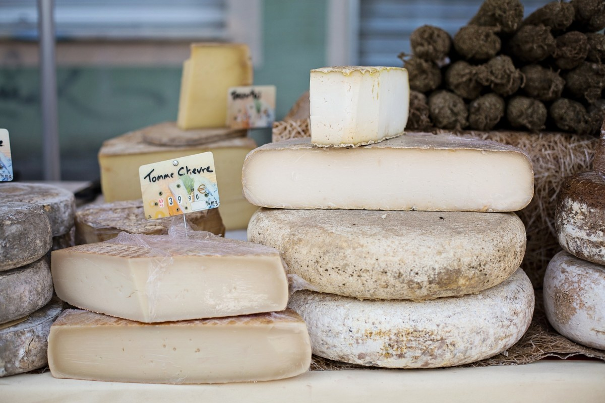 Cheeses are another protein option for vegetarians.