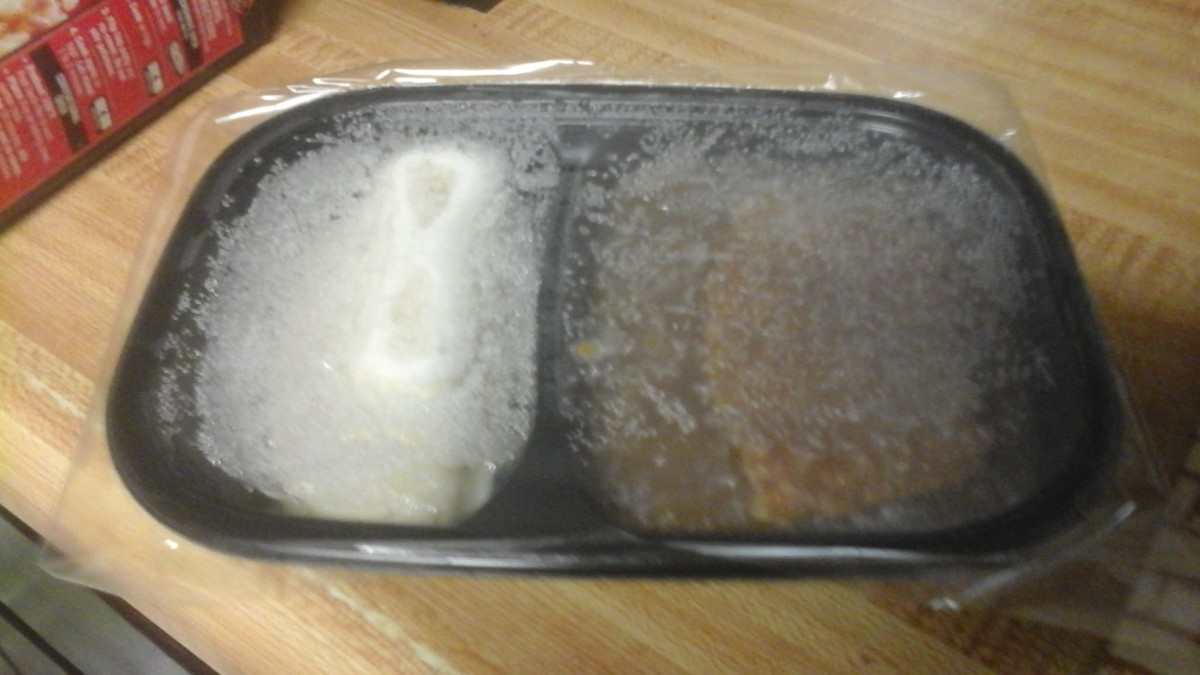 Frozen - out of the package - ready for the oven