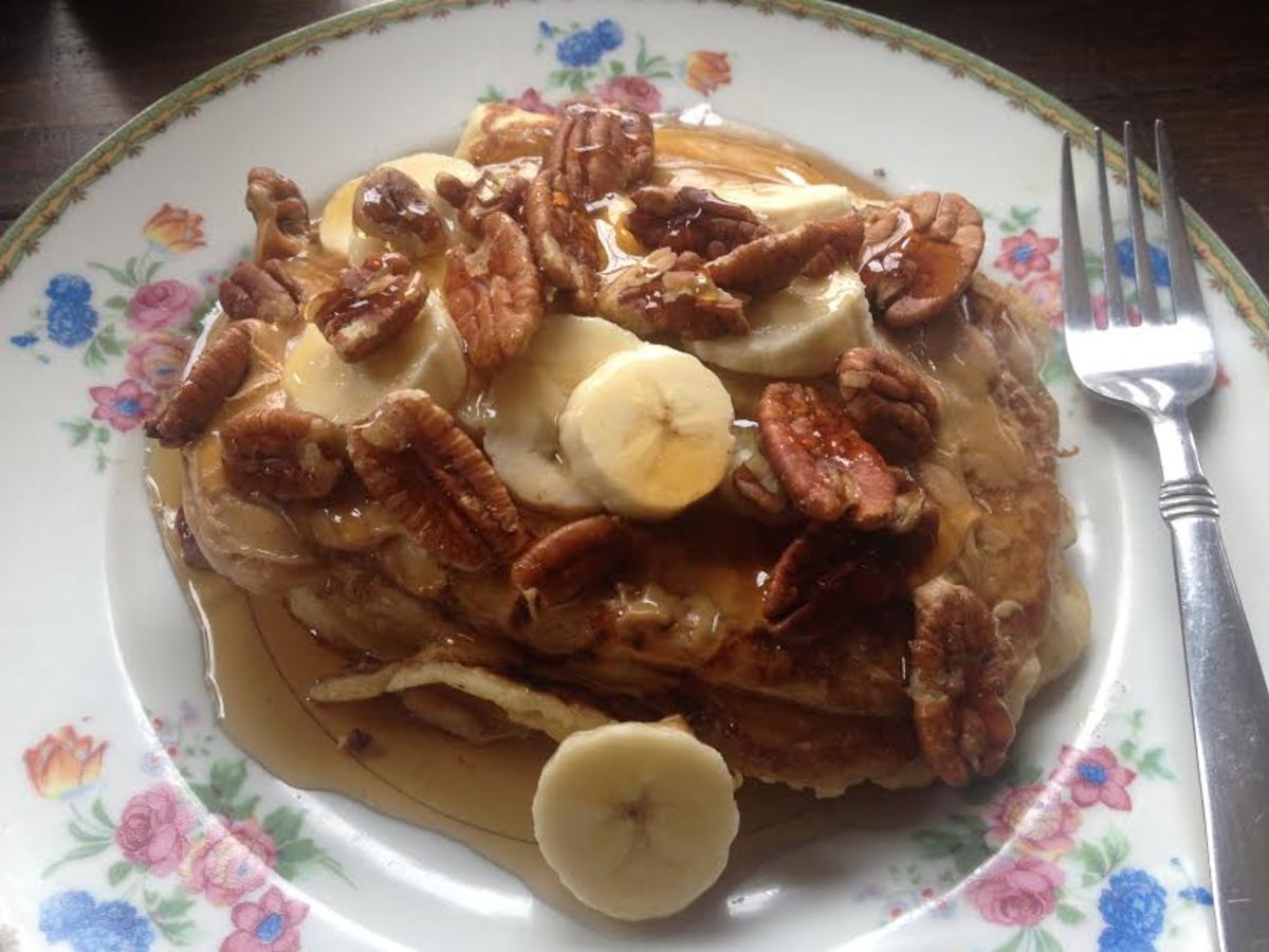 Sometimes it's nice to add something different to top off your yummy breakfast pancakes.