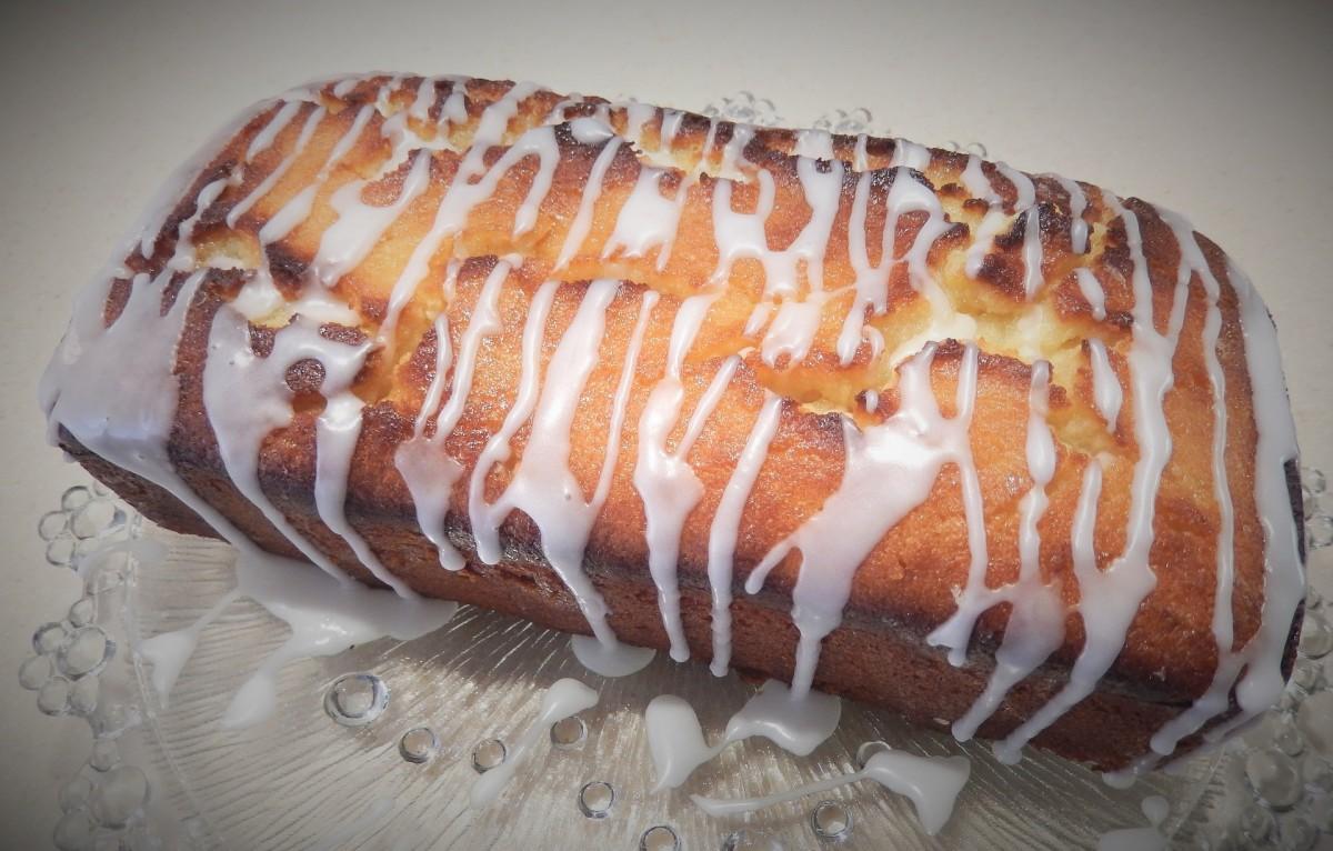 Lemon-cranberry loaf.