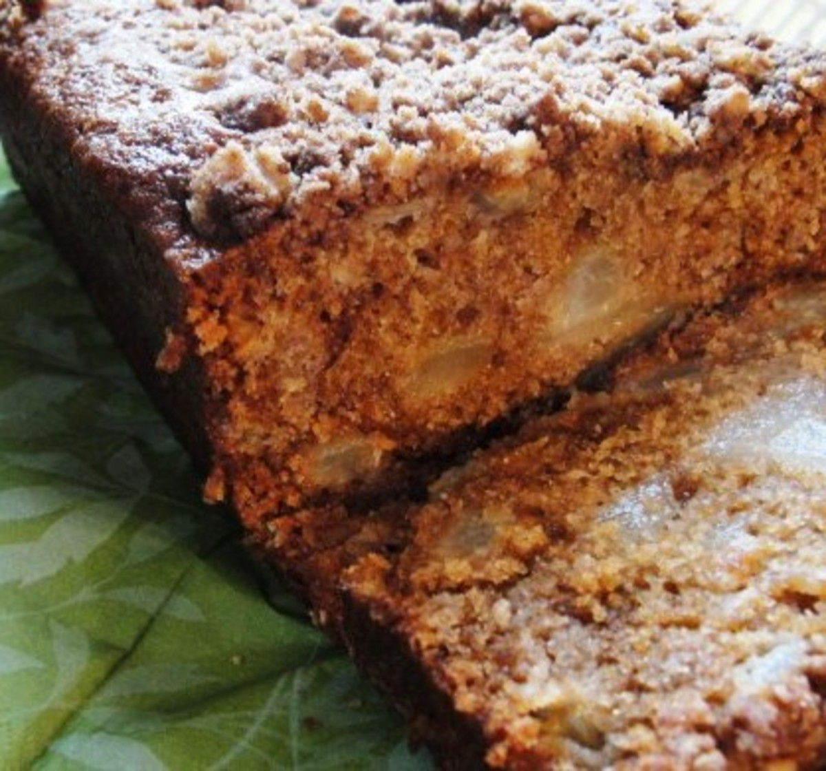 ginger pear loaf