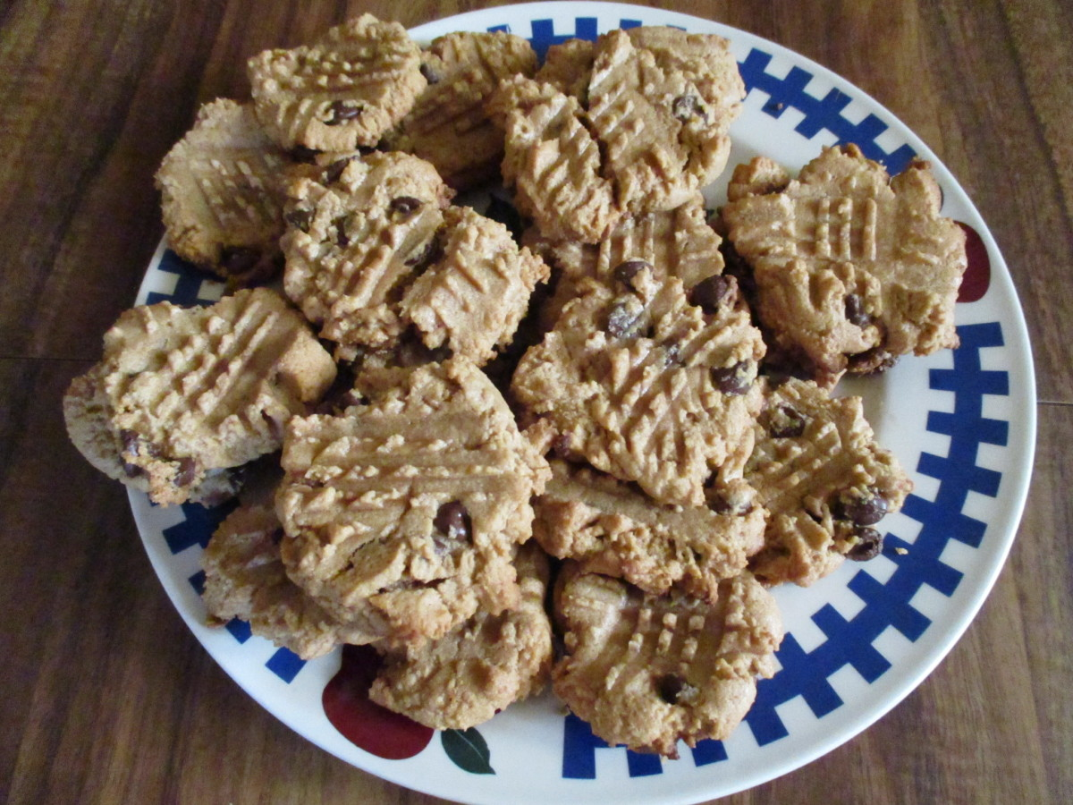 This recipe makes more than enough cookies for you and the family.
