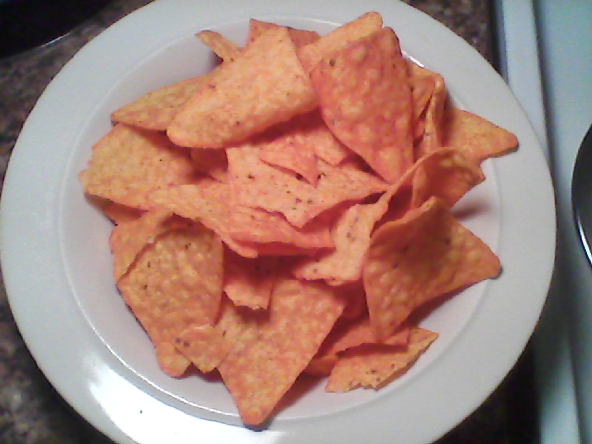 Doritos Nacho Cheese Flavored Tortilla Chips