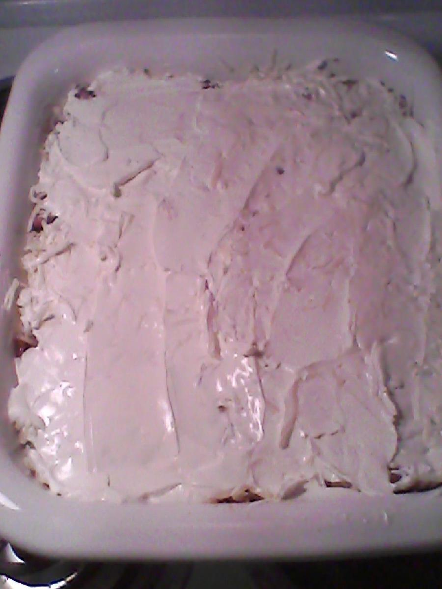 Step 4 : Sour cream