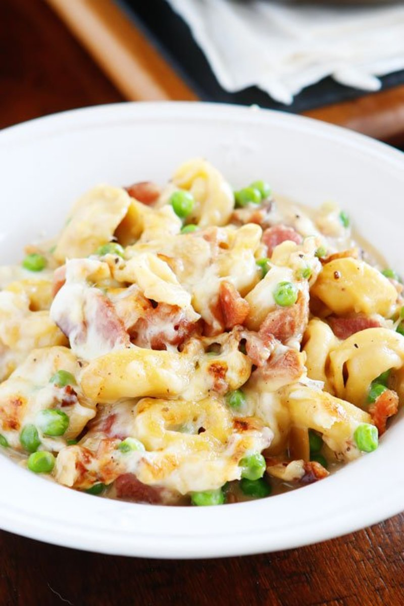 Ham and Cheese Tortellini