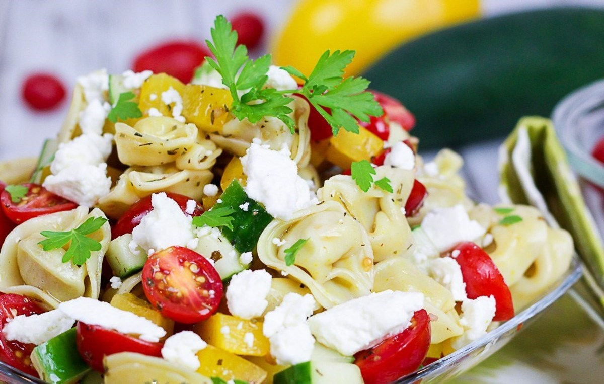 Greek Tortellini Salad