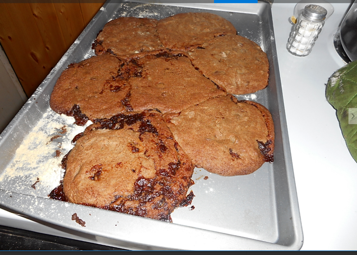 Problems - Cookies Merged into One Big Cookie