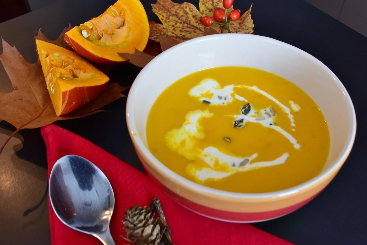 Pumpkin-Corn Bisque