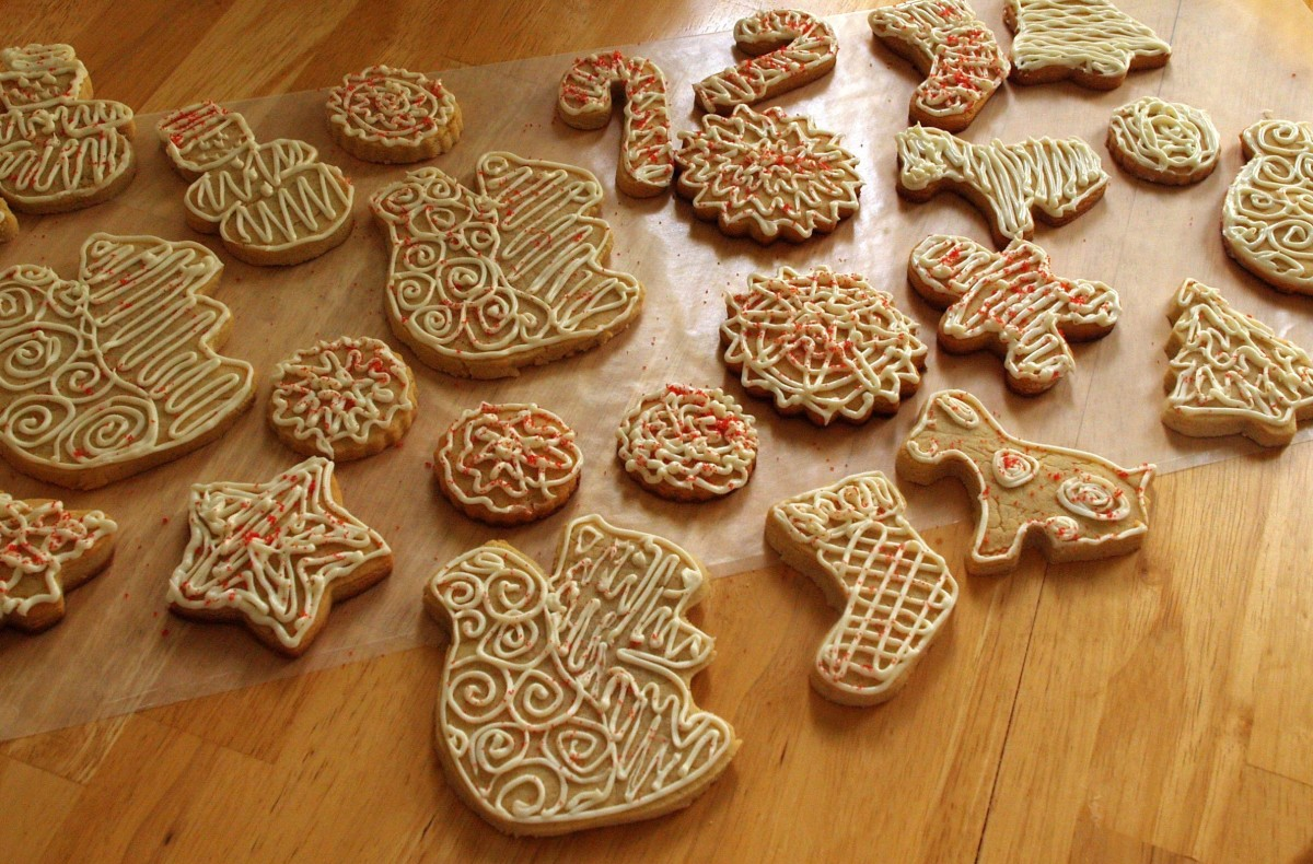 These holiday cookies were baked without butter!