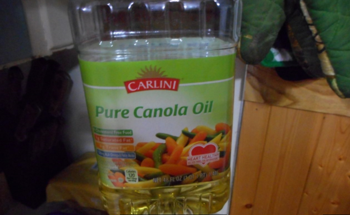 I use Canola Oil.