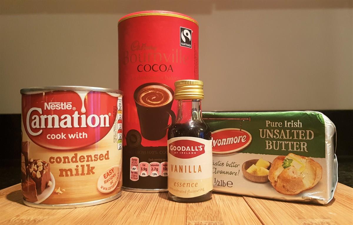Brigadeiro ingredients ready to go!