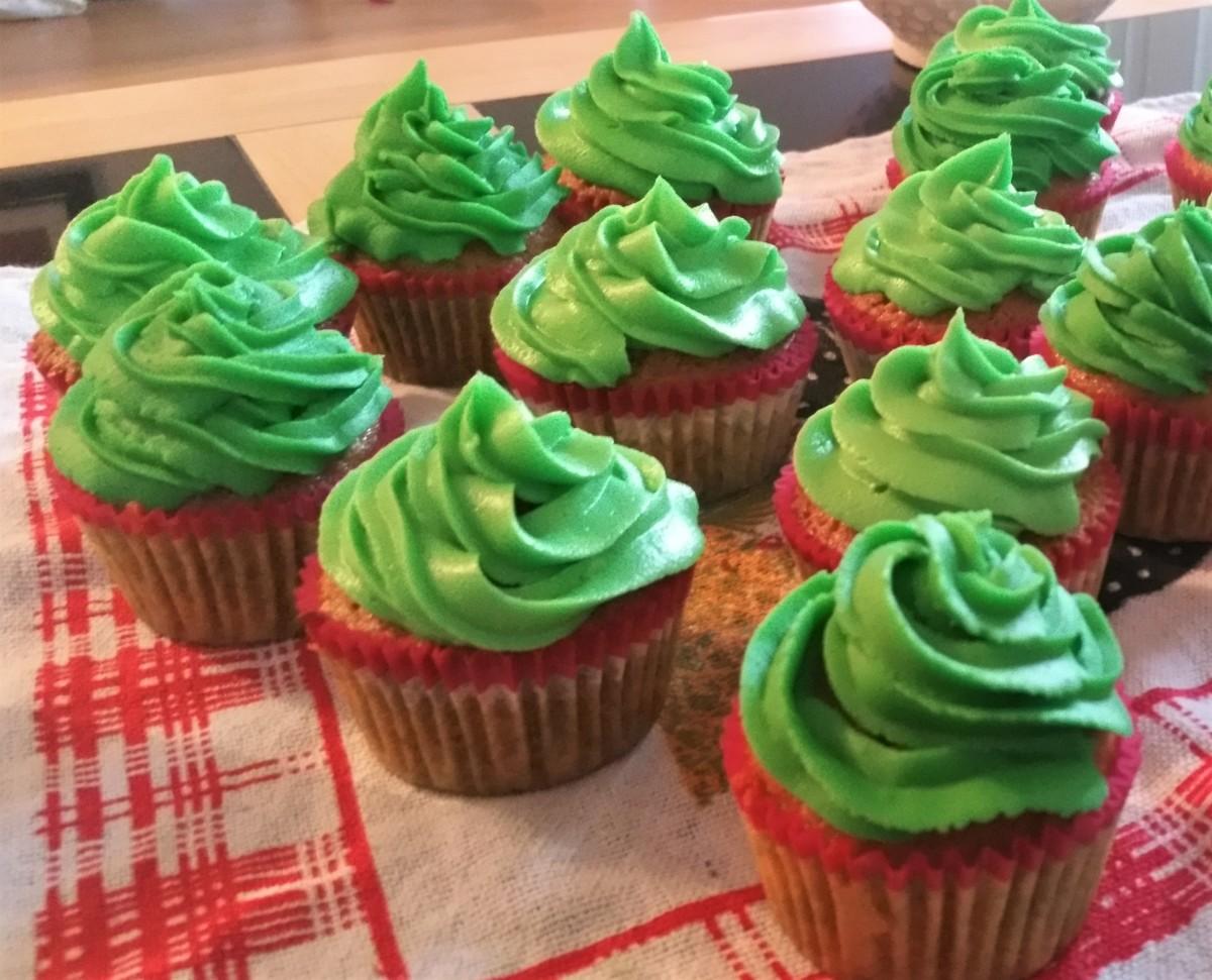 My Halloween cupcakes