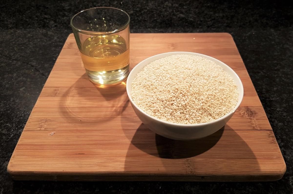 Tahini ingredients