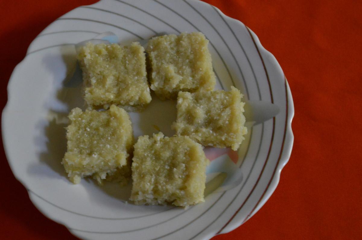 Cucumber Pudding (Idli)