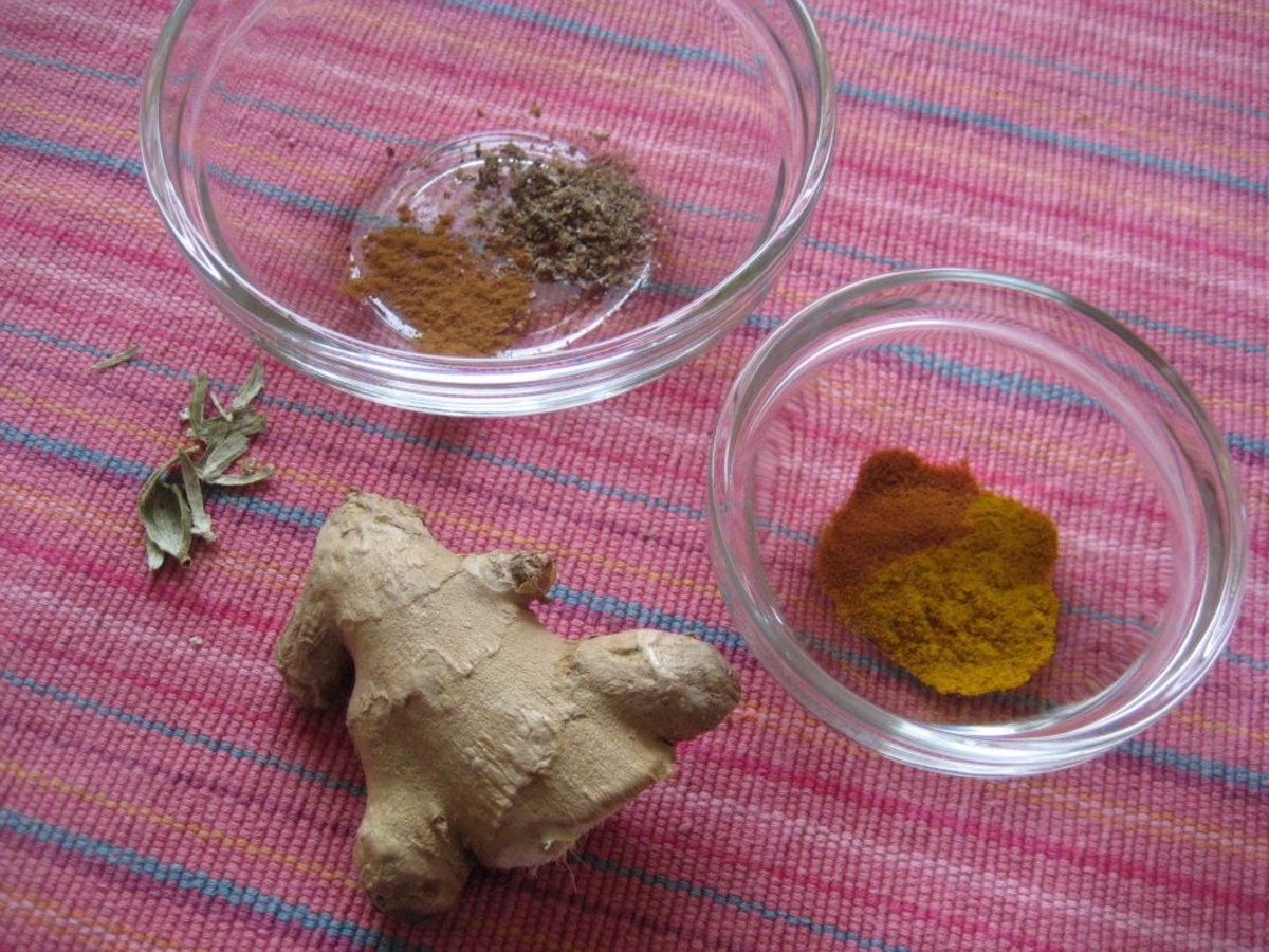Spices to be used