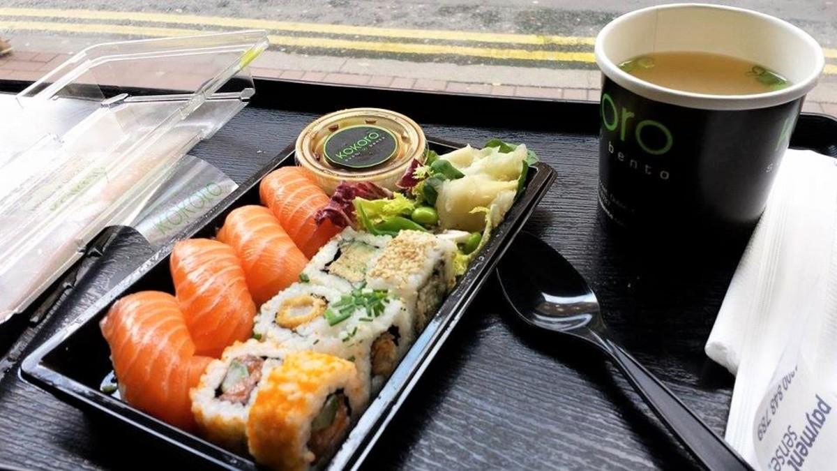 Sushi in Dublin