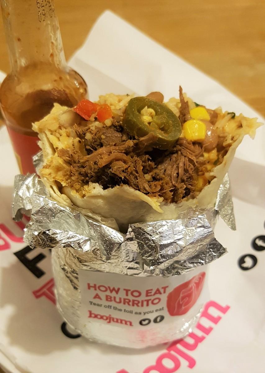 Burrito in Dublin