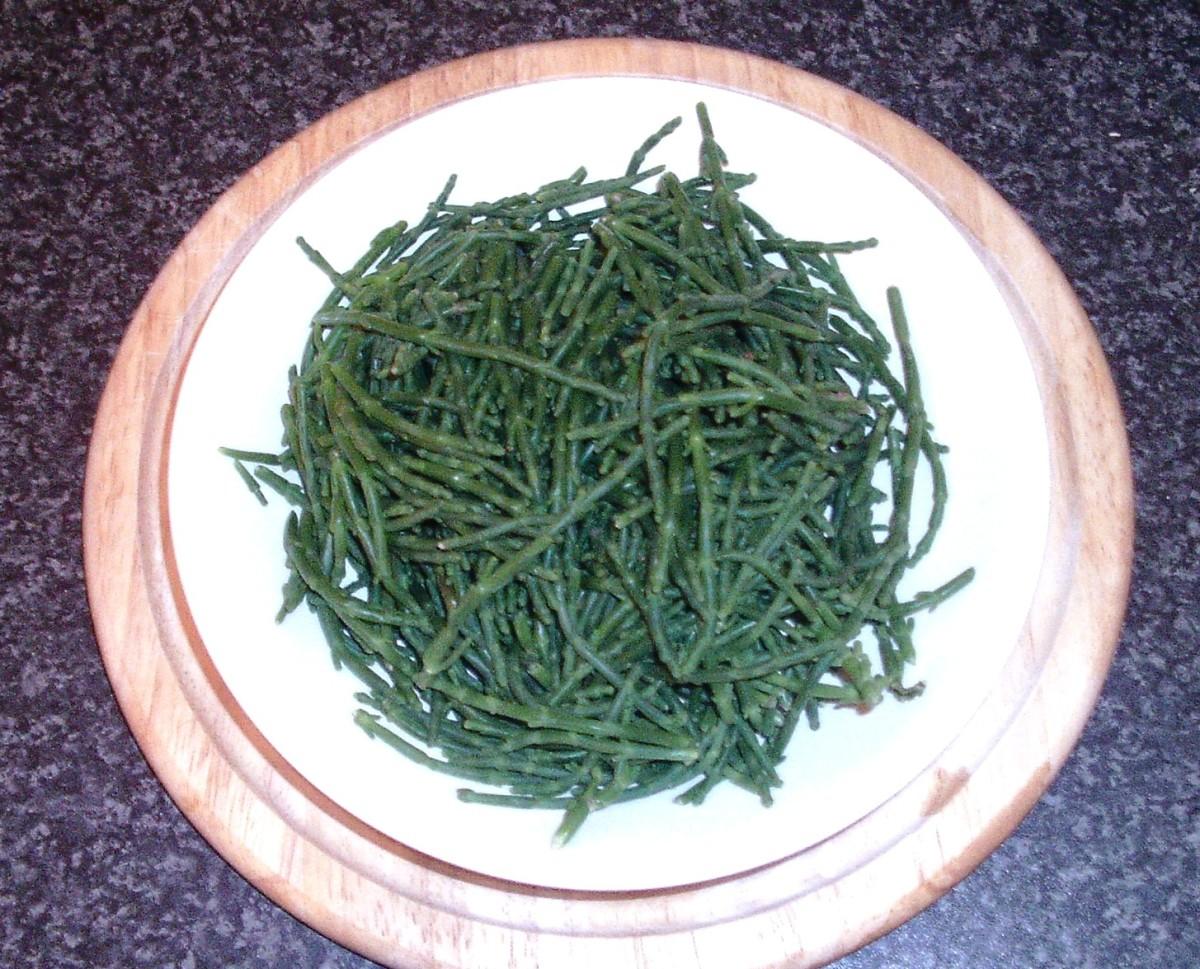 Samphire seaweed