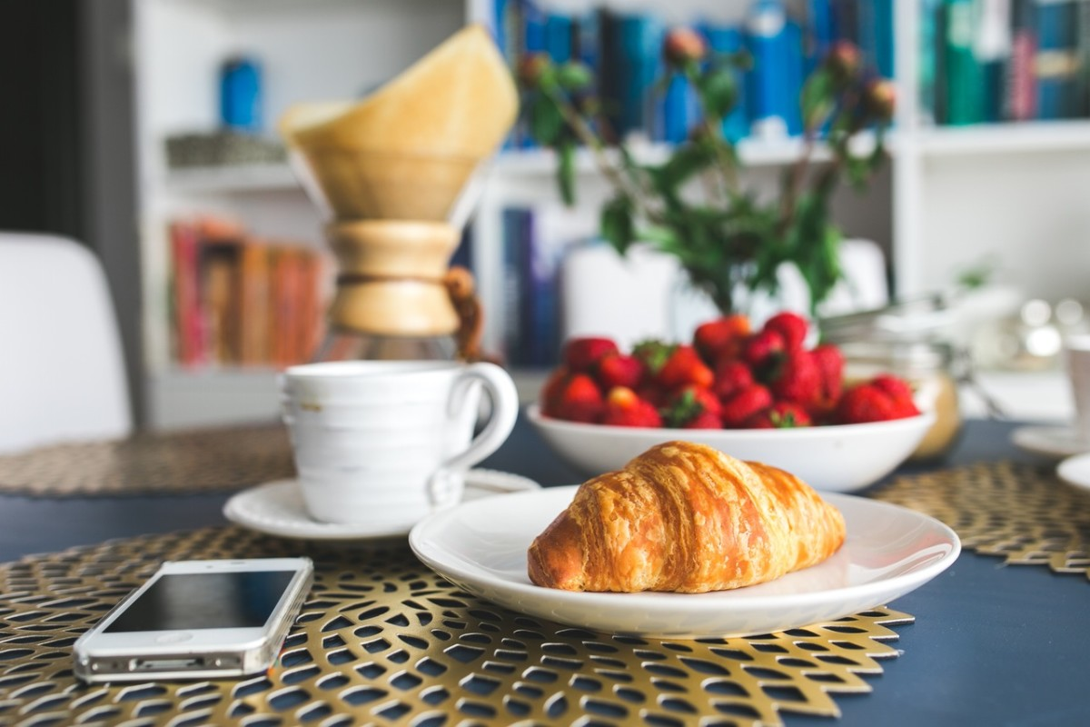Try making breakfast at home instead of going to the local coffee shop.