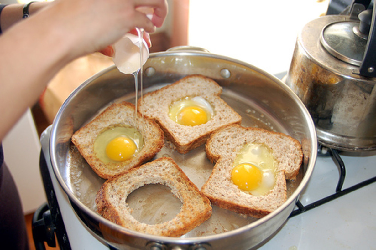 Egg in the hole is fun and surprisingly easy to make.