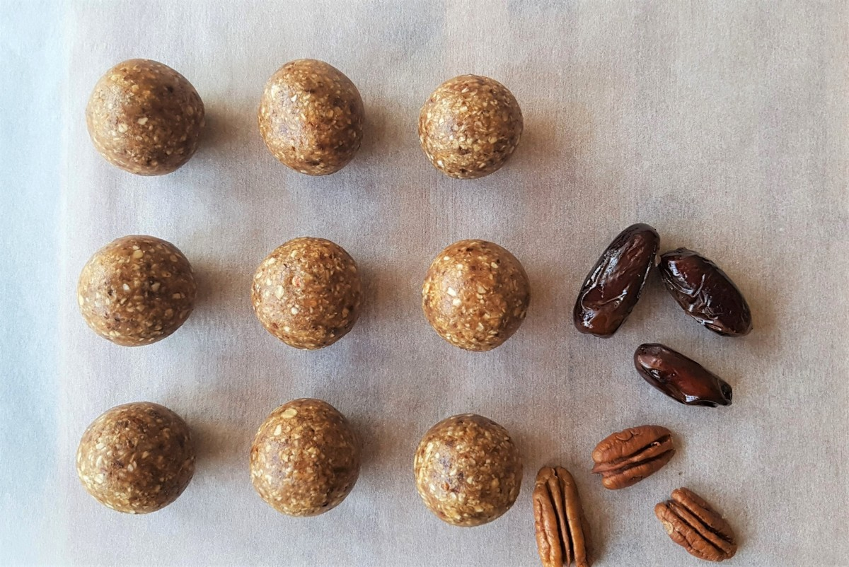 Peanut Butter Energy Balls Recipe With Dates – No Bake Recipe