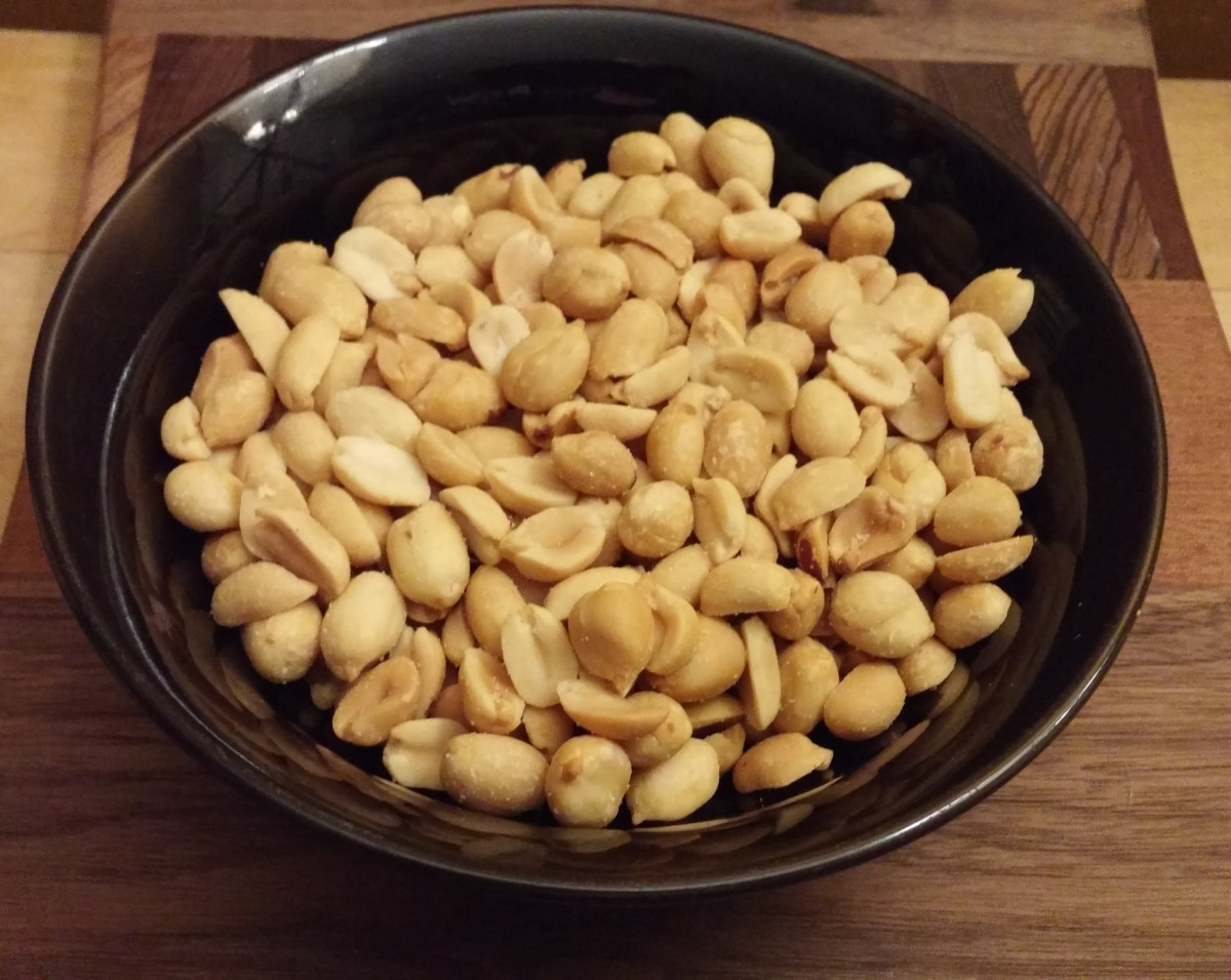 Peanuts are a member of the legume family. It's a heart-healthy food, so enjoy a handful several times a week.