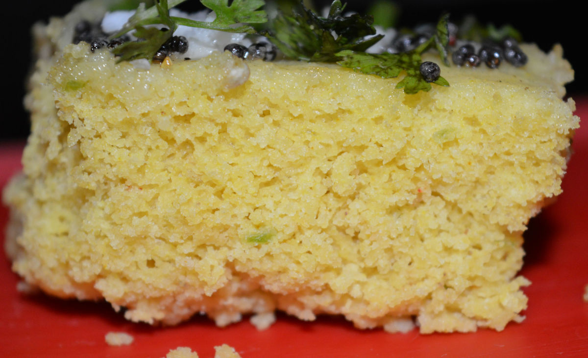 Dhokla square-ready to eat