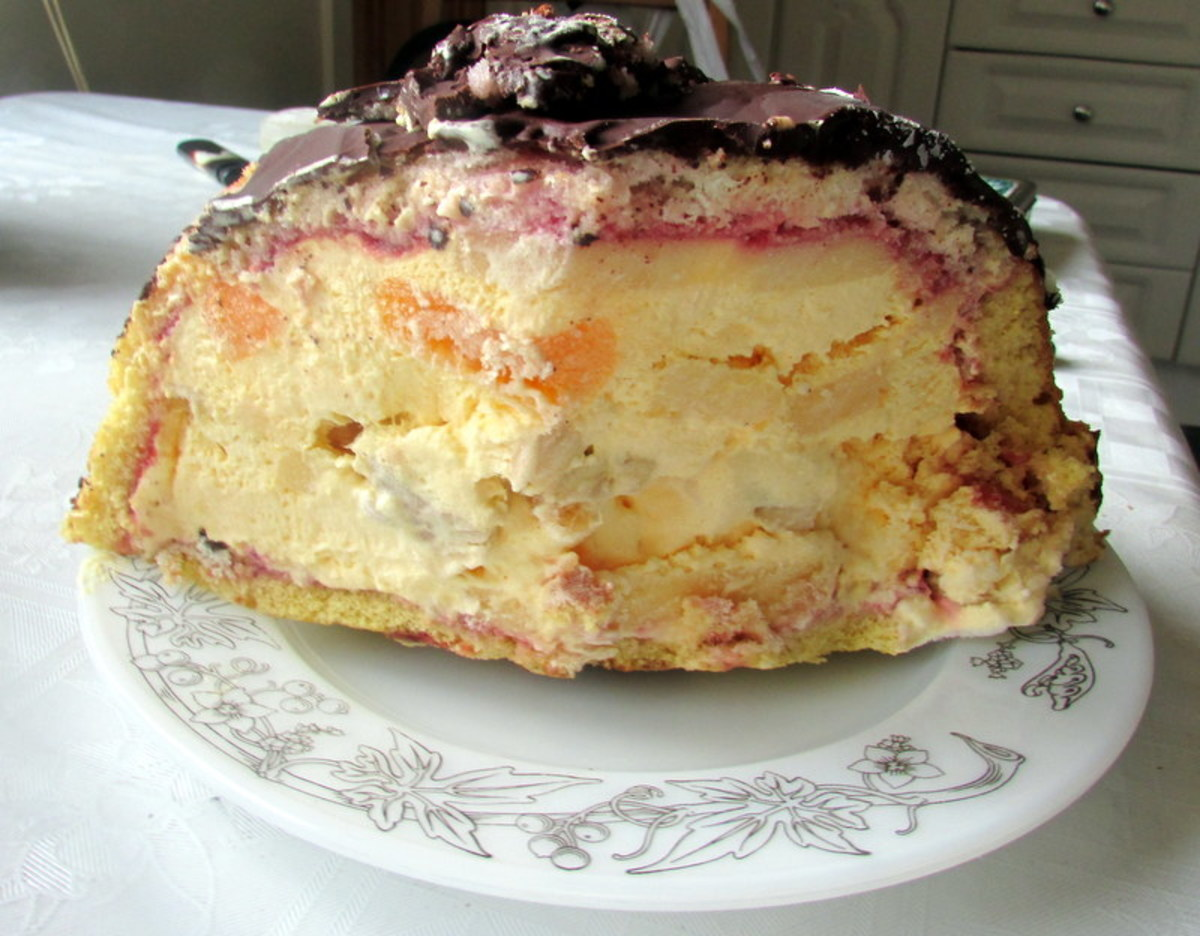 Ice Cream Sponge Recipe
