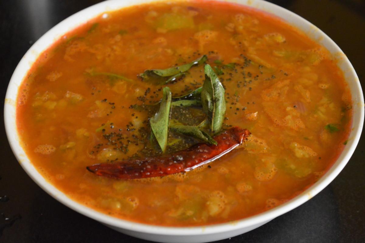 Enjoy the sambar!