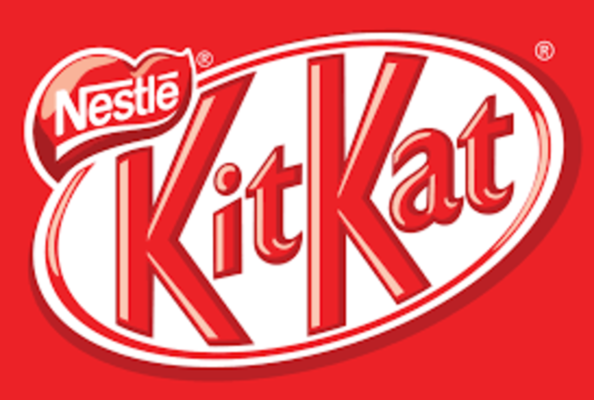 Nestle owns the license to Kit Kat bars marketed and sold outside of the United States. (In America, KIt Kat is produced by Hershey).