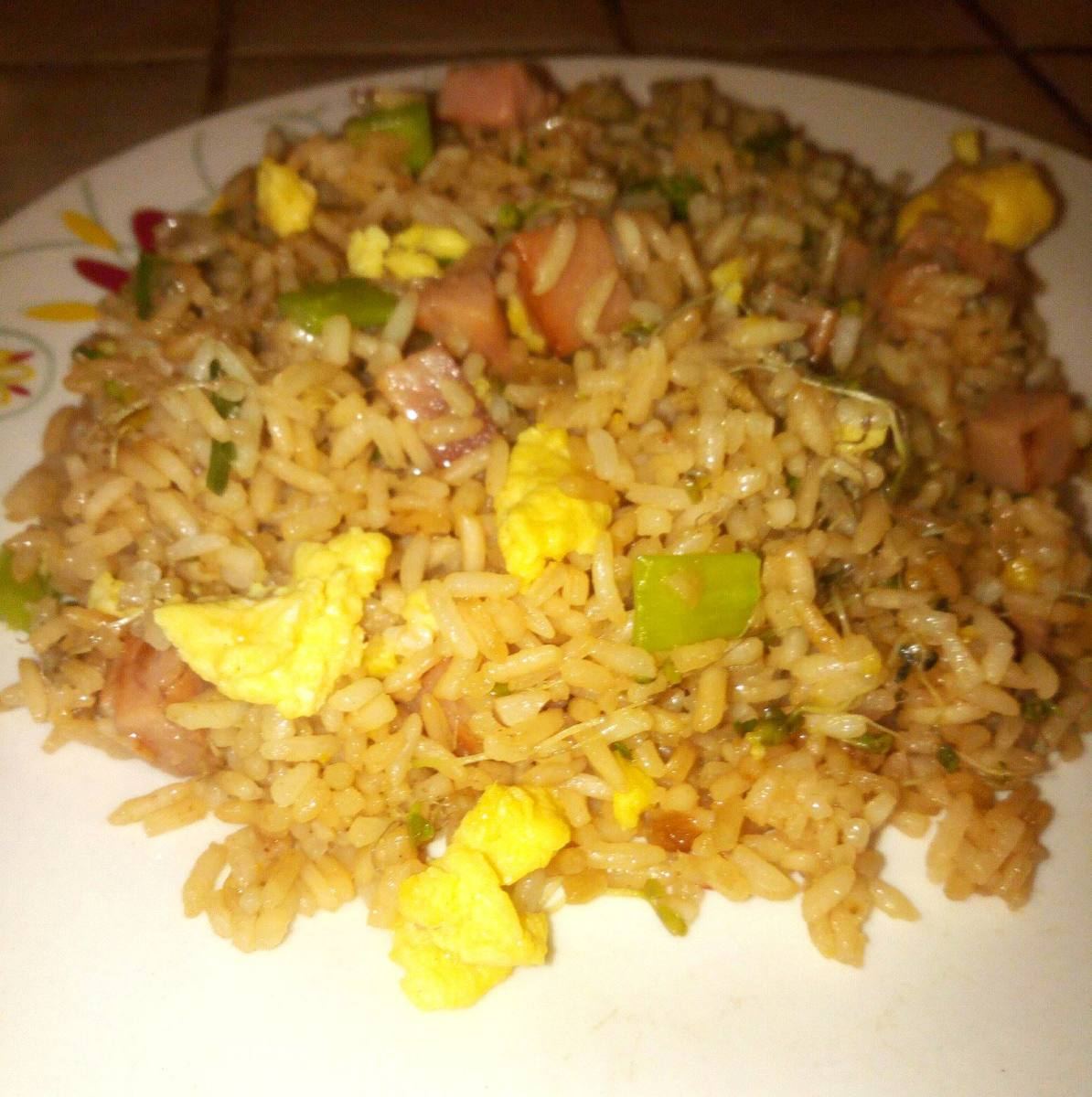 Arroz Chino is a tasty and popular Boricuan dish!