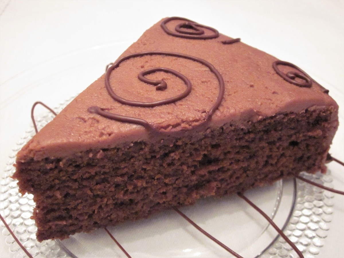 A rich, moist chocolate cake that everyone can enjoy, with or without chocolate frosting.