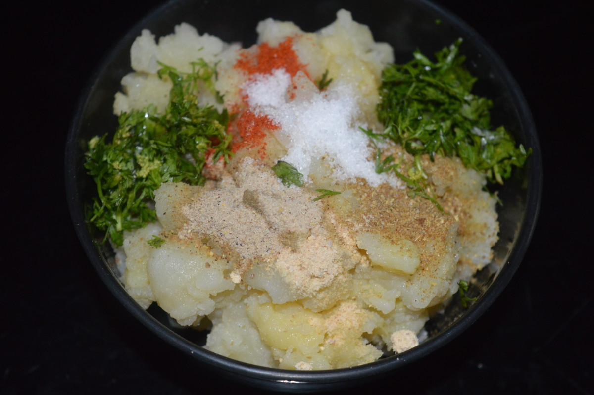 potato tikki mix without peas