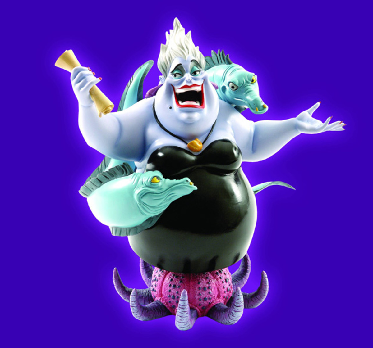Ursula is another classic Disney villain.