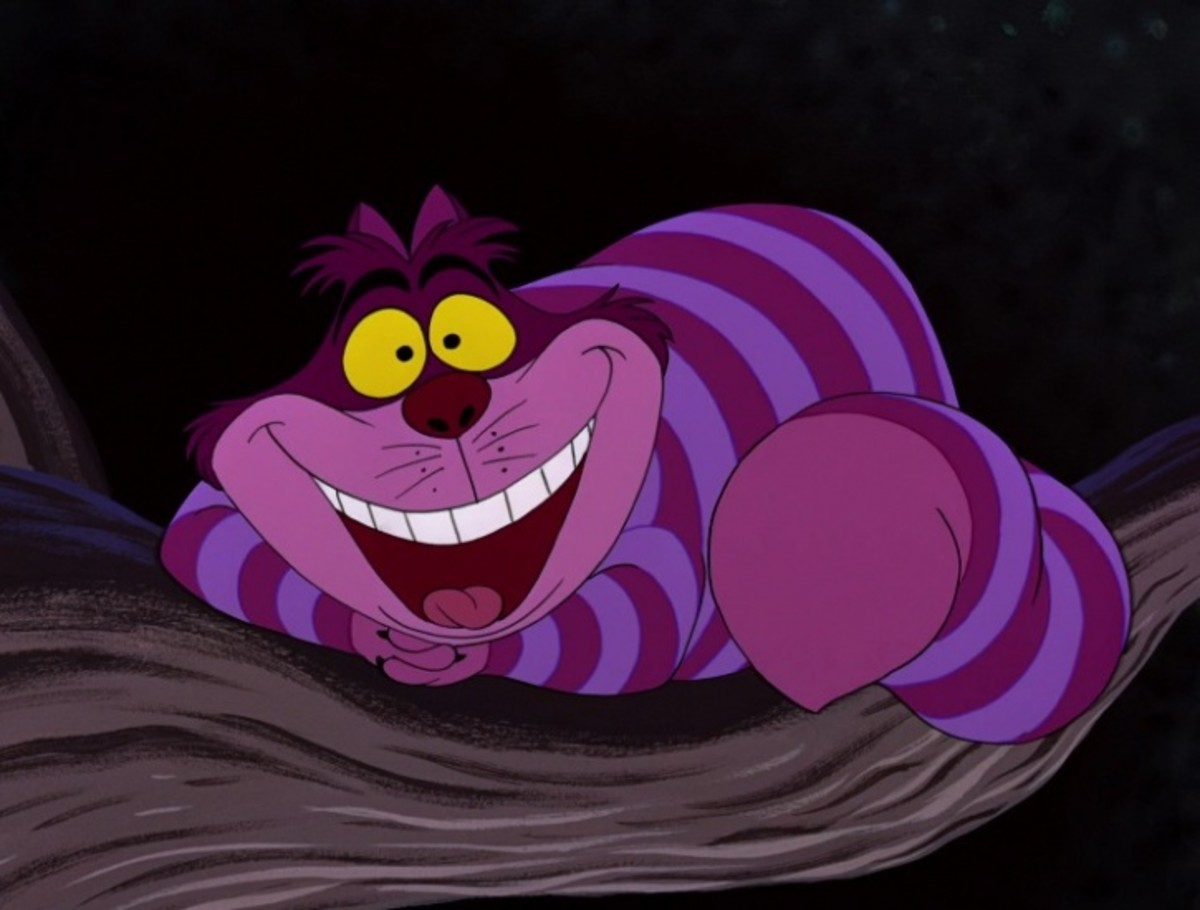 As far as villains go, the Cheshire Cat is truly one of a kind.
