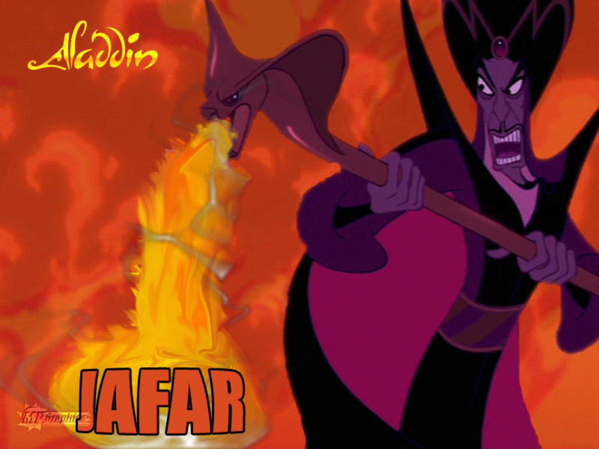 If ever there was a Disney villain to send shivers down your spine, it would have to be Jafar!