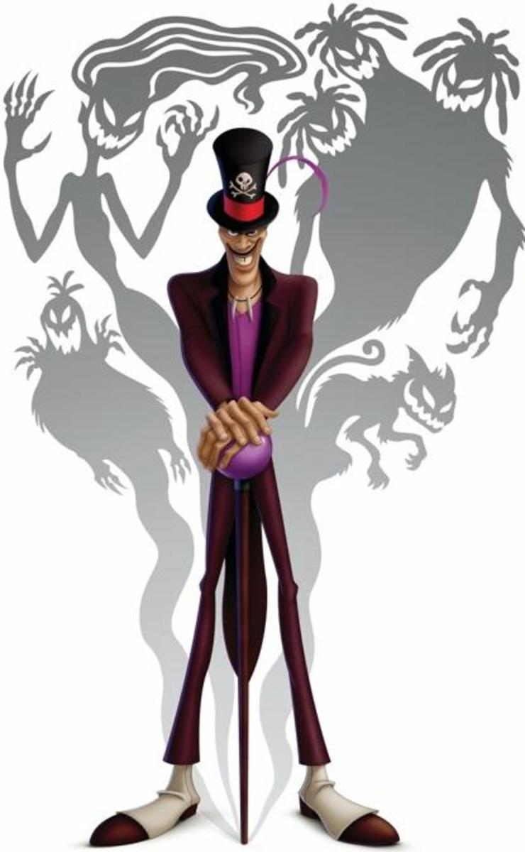 "Dr. Facilier might be a newer Disney villain, but he certainly isn't lacking in the ""creep"" department."