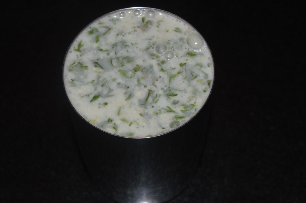 Spicy ginger-garlic buttermilk