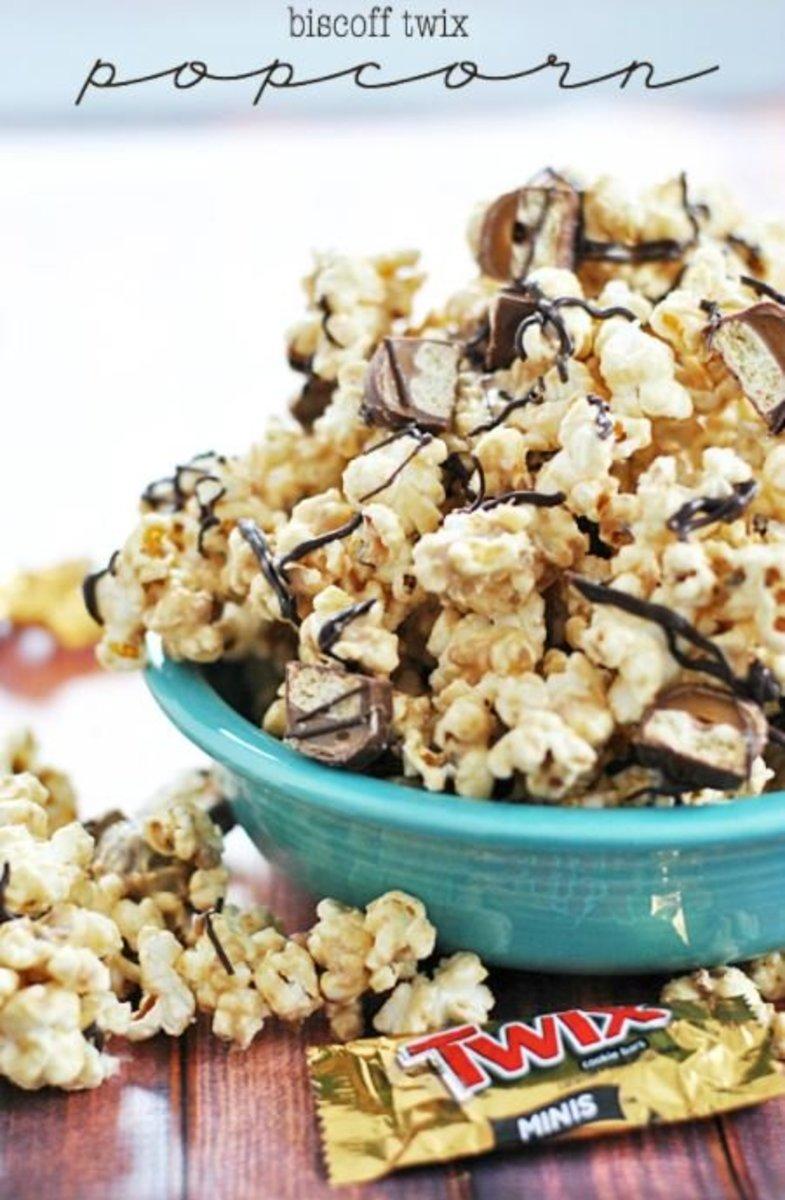 Twix popcorn is peanut free!