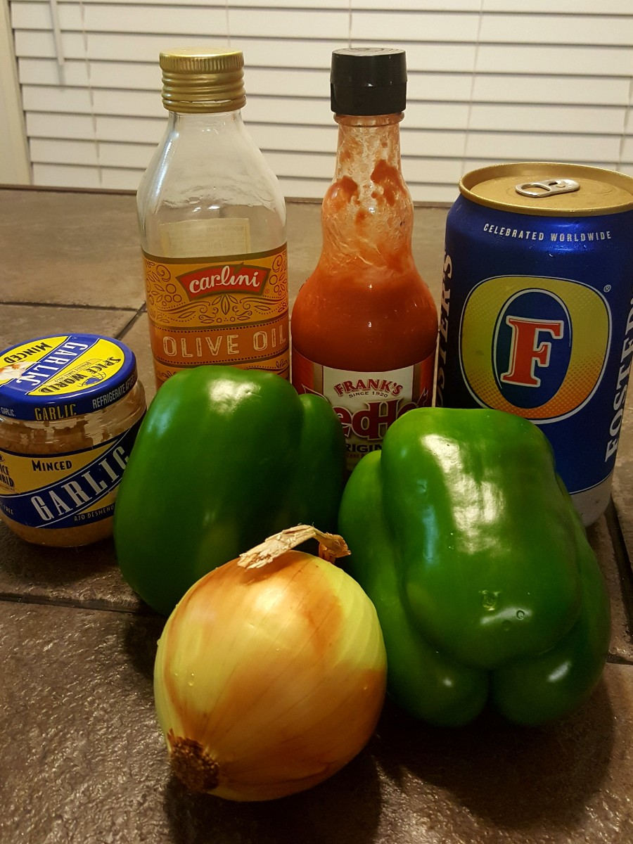 ingredients for chili