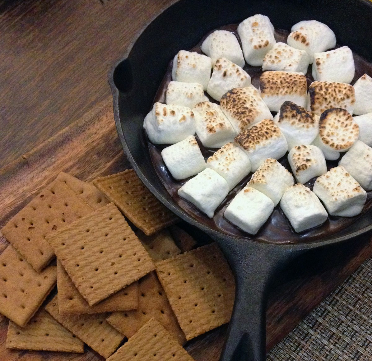 Why not try making s'more bars?