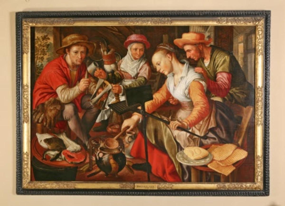 Dutch Kitchen Scene, Joachim Bueckelaer